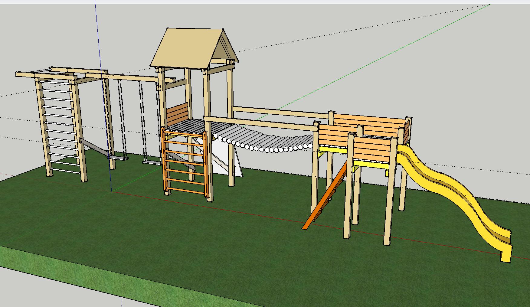 DIY kids playground project | Jono Udrio tinklaraštis