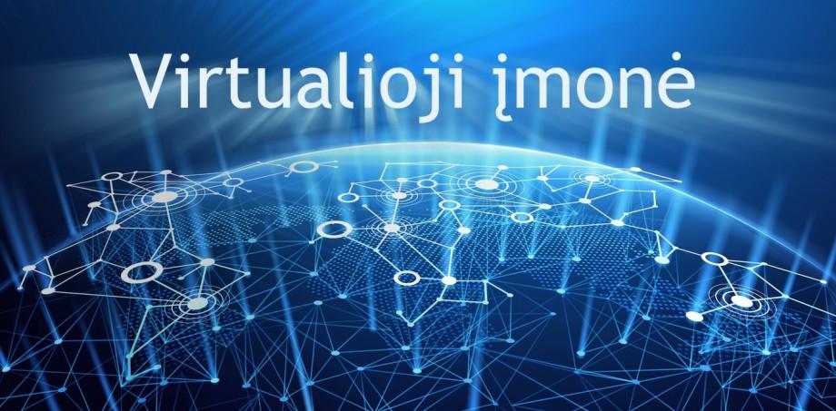 """Virtualios įmonės naudojant """"blockchain"""" technologiją"""