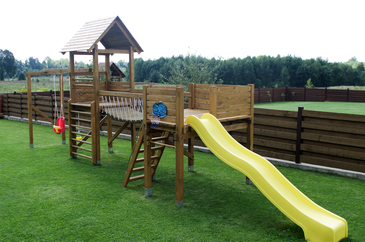 build it yourself wooden swing play ground | just b.CAUSE